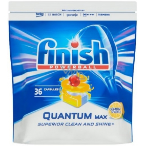 Finish Quantum Max Lemon dishwasher tablets 36 pieces