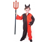 Devil costume with headband size M