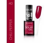Revers Solar Gel gel nail polish 40 Chili Pepper 12 ml