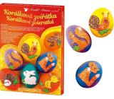 Egg decoration Beaded animals set