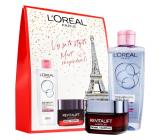 Loreal Paris Revitalift Laser X3 day cream 50 ml + Skin Perfection micellar water 200 ml, cosmetic set