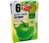 Tea Lights Green Apple with the scent of green apple scented tea candles 6 pieces