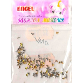 Angel nail decorations marigolds gold 1 package