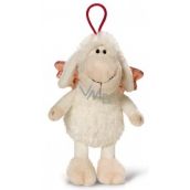 Nici Jolly sheep with curtain white Plush toy the finest plush 15 cm