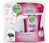 Dettol Forest berries non-contact soap dispenser and soap filling 250 ml