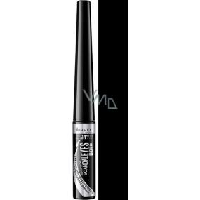 Rimmel London Scandaleyes Bold waterproof eyeliner 001 Black 2.5 ml