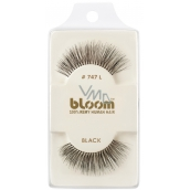 Bloom Natural Eyelash Curly Natural Hair Curly Black No. 747L 1 Pair