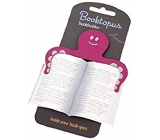If Booktopus Bookholder Book Holder Pink 8 x 0.2 x 16.2 cm