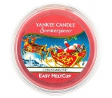 Yankee Cahdle Scenterpiece Meltcup Christmas Eve wax in aromalamp 61 g