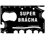 Albi Multinářadí do peněženky Super brácha 8,5 cm x 5,3 cm x 0,2 cm