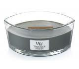 WoodWick Evening Onyx - Večerní Onyx vonná svíčka s dřevěným knotem a víčkem sklo loď 453 g