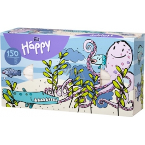 Bella Happy Baby Octopus hygienic handkerchiefs 2 ply 150 pieces