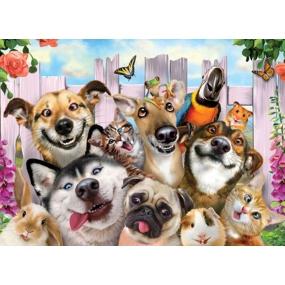 Prime3D poster Animal - Selfie 39.5 x 29.5 cm