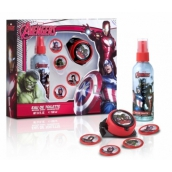 Avengers Body spray 100 ml + rocket launcher + discs