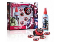 Avengers Body spray 100 ml + rocket launcher + discs
