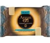Nuagé Skin Argan Oil moisturized facial wipes 25 pieces