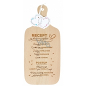 Albi Wedding board with wooden text 35 x 15.7 x 0.8 cm