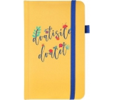 Albi Diary 2020 pocket with elastic Mustard 15 x 9.5 x 1.3 cm