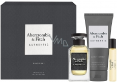 Abercrombie & Fitch Authentic Man eau de toilette for men 100 ml + eau de toilette 15 ml + shower gel 200 ml, gift set