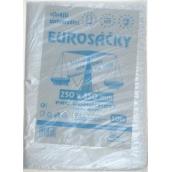 Press Eurosáčky silnější univerzální trhací čiré 25 x 35 cm 50 kusů