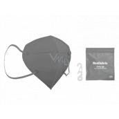 Healfabric Respirator oral protective 5-layer FFP2 face mask gray 1 piece