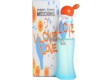 Moschino I Love Love EdT 100 ml eau de toilette Ladies
