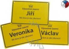 Nekupto Cedulka se jménem Miloslava 15x10 cm 1 kus