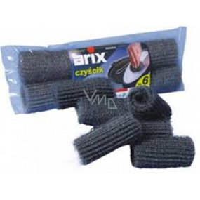 Arix cleaning rolls made of steel yarn 6 pieces