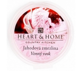 Heart & Home Strawberry Ice Cream Soy Natural Scented Wax 27 g