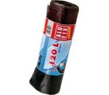 Alufix Economy Pytle na odpad zatahovací černé 120 litrů, 70 x 100 cm, 7 kusů