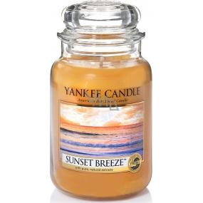 Yankee Candle Sunset Breeze - Vánek při západu slunce vonná svíčka Classic velká sklo 623 g