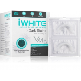 iWhite Dark Stains teeth whitening set 10 x 0.8 g