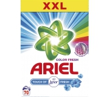 Ariel Fresh Touch of Lenor Color washing powder universal, protects against scale, with Lenor 70 fragrances 5.25 kg box