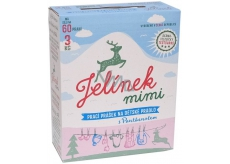 JELEN JELINEK Baby washing powder 60 doses.3kg BOX 0031