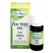 Dr. Popov Tea Tree Oil 100% pure Tea Tree Oil with antiseptic effects, in the highest possible quality 11ml