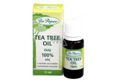 Dr. Popov Tea Tree Oil 100% pure Tea Tree Oil with antiseptic effects, in the highest possible quality 11 ml