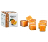 Cossack Sweet orange natural fragrant wax for aroma lamps and interiors 8 cubes 30 g