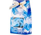 My Bath oil pearls Whale blue 3 pieces, gift box