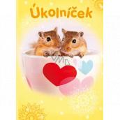Ditipo Taskster hamsters workbook A6
