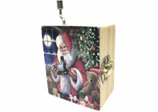Epee Christmas Santa Claus Is Coming to Town - Santa is coming to town 5.5 x 6.6 x 3.6 cm