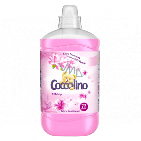 Coccolino Silk Lily concentrated softener 72 doses 1.8 l
