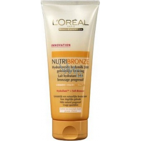Loreal Nutri Bronze moisturizing lotion 24h with a light tan effect of 200 ml