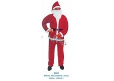 Santa Claus / Santa costume for adults, pants, blouse, belt, beard, cap size L