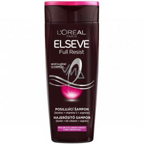 Loreal Paris Elseve Full Resist strengthening shampoo for weak hair with a tendency to fall out 250 ml