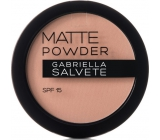 Gabriella Salvete Matte Powder SPF15 Powder 04 Light Sand 8 g