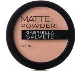 Gabriella Salvete Matte Powder SPF15 Powder 04 Light Sand 8 g