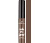 Essence Make Me Brow Eyebrow Gel Gel Eye Mask 02 Browny Brows 3.8 ml