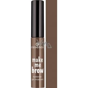Essence Make Me Brow Eyebrow Gel Eyebrow Mascara 02 Browny Brows 3.8 ml