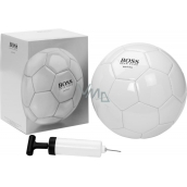 Hugo Boss Soccer Ballon soccer ball white 1 piece + ball pump 1 piece