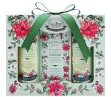 Bohemia Gifts & Cosmetics Green Spa shower gel 100 ml + toilet soap 100 g + hair shampoo 100 ml